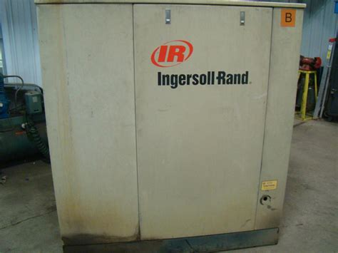 ingersoll rand rotary 50 hp air compressor 460v 211