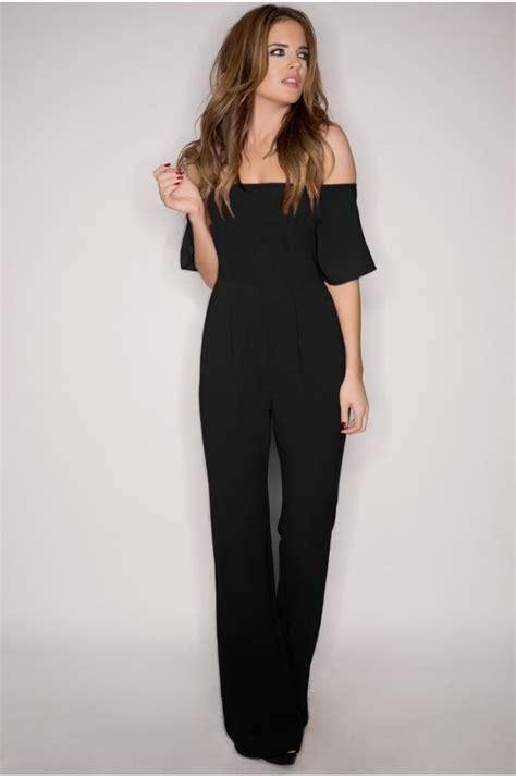 black s jumpsuit best 25 black jumpsuit ideas on