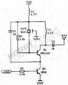 433mhz Wireless Transmitter Module Mx-fs-03v