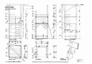 Bauplan Gartenhaus Pultdach : bauanleitung ritterburg aus holz selber bauen ~ Frokenaadalensverden.com Haus und Dekorationen