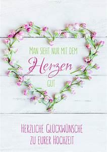 Karte Zur Hochzeit : karte zur hochzeit herz aus blumen ~ A.2002-acura-tl-radio.info Haus und Dekorationen