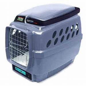 komfort pets climate controlled pet carrier the red With air conditioned dog carrier