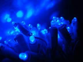 Gallium LED Blue Lights