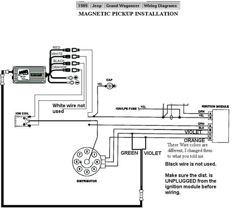 1989 Jeep Ignition Switch Diagram by 1989 Jeep Grand Wagoneer Mag Pu Msd