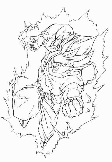 transmissionpress: Dragon Ball Z Goku SUper Saiyan