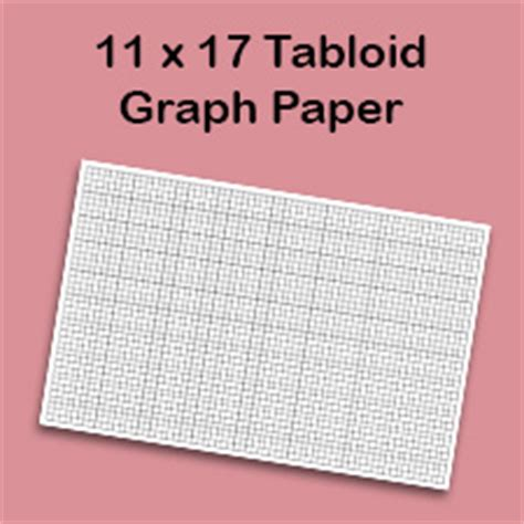 graph paper template  tabloid printable