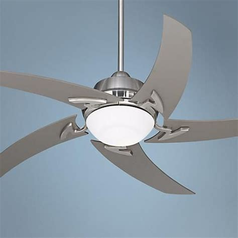 casa vieja ceiling fan light kit 52 quot casa vieja brushed nickel ceiling fan with light
