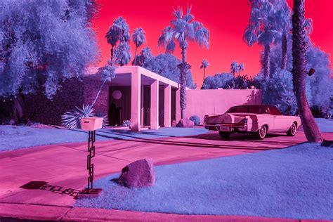 kate ballis infrared vision  palm springs modernism