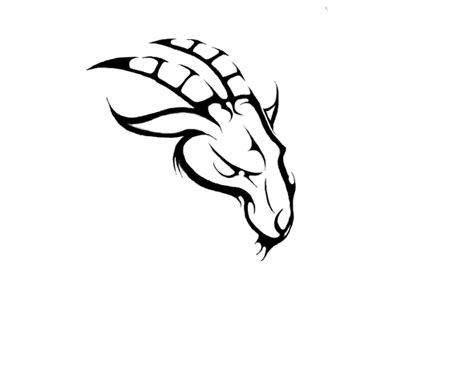 goat tattoo images designs