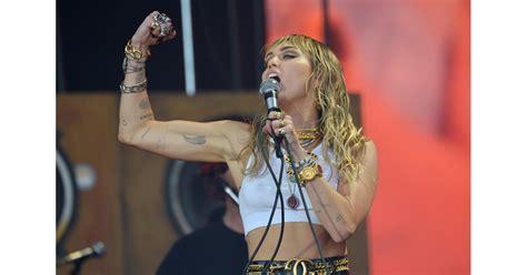 Miley Cyrus 2019 Glastonbury Performance Photos   POPSUGAR ...