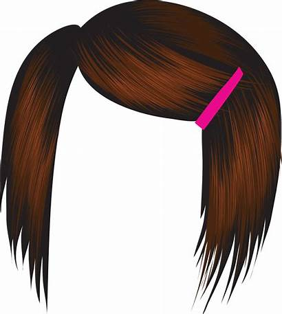Clipart Afro Wig Clip Brown Cliparts Wigs