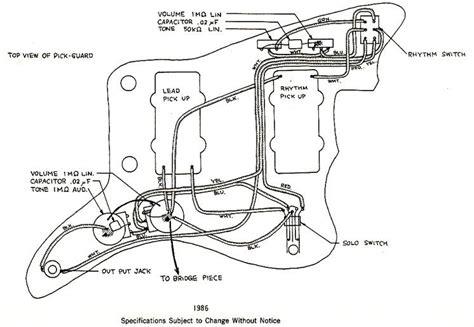 Jazzmaster Wiring Diagrams Free Download Oasis