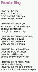 Promise rings tumblr for Promise ring letter for her