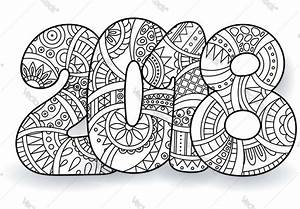 Printable New Years Coloring Pages 2018