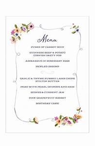 26 images of english tea party menu template infovianet With tea party menu template