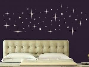 Die Sterne Vom Himmel Holen : wandtattoo sternenhimmel f r die wohnung bei ~ Lizthompson.info Haus und Dekorationen