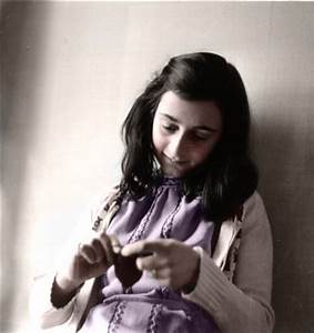 Anne Frank In Color | Colored her. | LikesT0FightGuy | Flickr