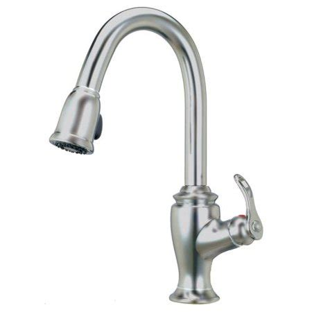 Kitchen Sink Faucets Walmart by Premium Single Handle Pull Out Sprayer Kitchen Faucet In