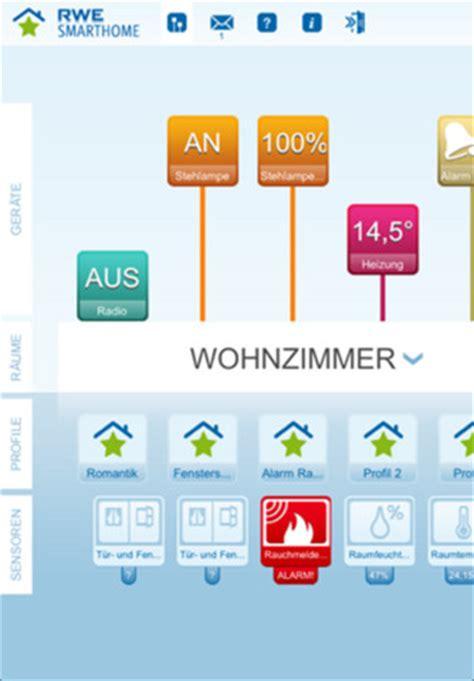 rwe smarthome die iphone app operation eigenheim
