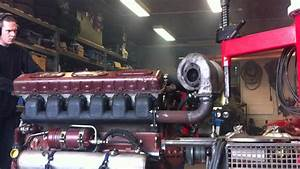 Transmash V12 Diesel 38 8dm3 With Turbo Start Engine