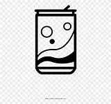 Soda Coloring Clipart Pinclipart sketch template