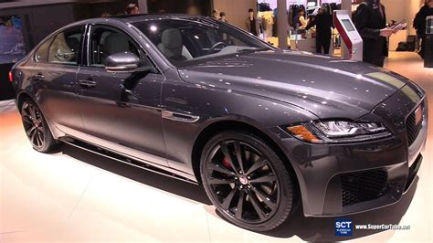 jaguar xf sport exterior  interior walkaround
