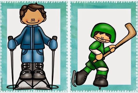 "Ideenreise Flashcards ""winter Activities""  My If Class )  Winter Activities, Winter, English"