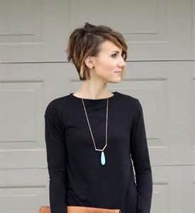 Asymmetrical Long Pixie Haircut