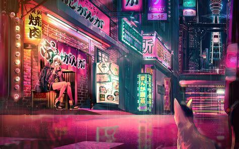 anime backgrounds mac aesthetic anime desktop wallpapers