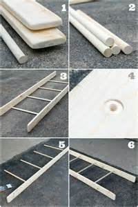 Tutorial DIY Decorative Ladder