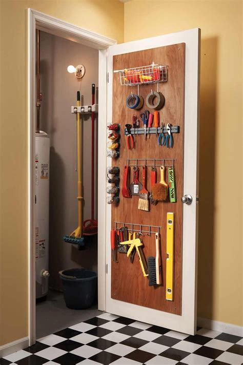 Closet Door Storage by Clutter Busting Strategies For Every Room The Family