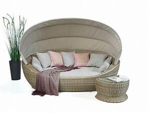 Rattan Lounge Mit Dach : summerdream spicy rattan liege beige lounge sonneninsel ~ Bigdaddyawards.com Haus und Dekorationen