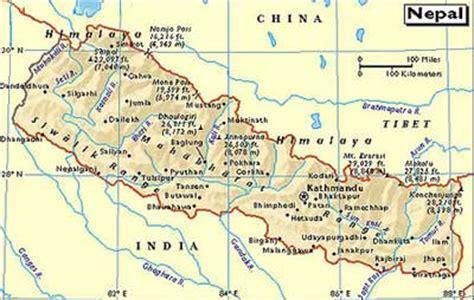 himalaya map himalayas mountain map himalayan mountain