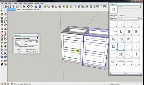 cabinetsense cabinet design software  sketchup