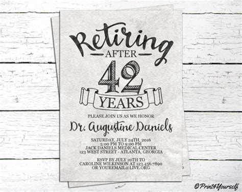The 25+ Best Retirement Invitations Ideas On Pinterest Get Well Gifts For Little Girl Photo Gift Editor Costco Great Husband Birthday Photographers Of Craft Beer Joint Daughter And Son In Law Funny Wrap