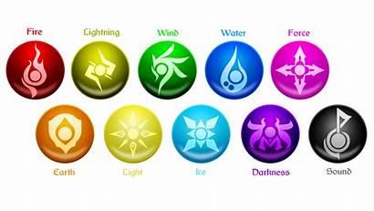 Deviantart Elements Tales Elemental Powers Element Symbols