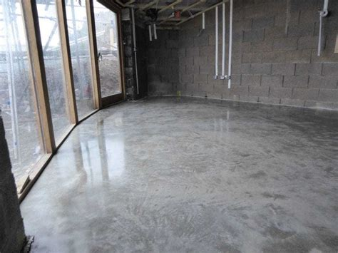 Polished Concrete Floor Anglesey Wales