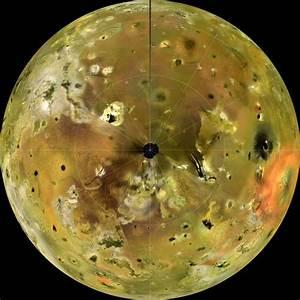 Io Moon Over Jupiter
