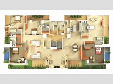 Awesome 1000 Images About 3d House Plans On Pinterest