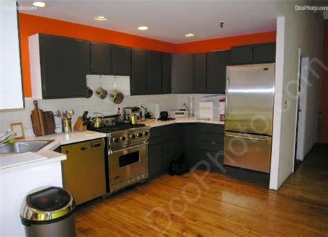 cuisine orange et grise peinture cuisine orange et gris cuisine nous a