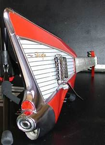 57 Chevy Tail Fin Guitar