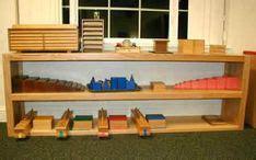 montessori shelves sensorial images montessori
