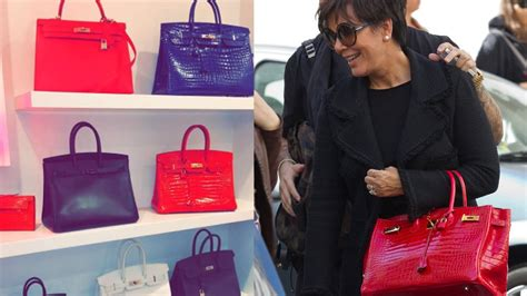 kylie jenner shows  mom kris jenners birkin bag collection youtube