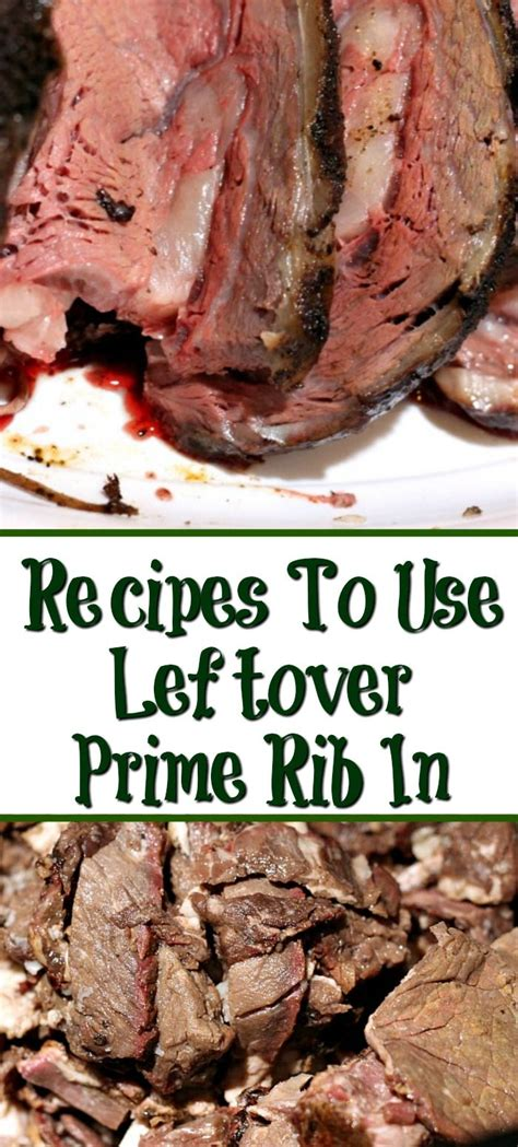 From soups to tacos, these leftover prime rib recipes will turn your favorite meat into an even better meal the second time around. Leftover Prime Rib Recipes in 2020 | Rib recipes, Leftover ...