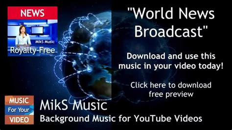 Powerful Background Music For News Broadcast Royalty Free
