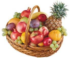 Salad Decoration by Basket With Fruits Png Clipart Best Web Clipart
