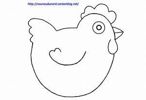 Poule Pour Paques : coloriage de p ques la poule dessin par nounoudunord ~ Zukunftsfamilie.com Idées de Décoration
