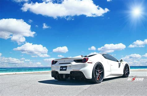 488 Gtb 4k Wallpapers by 488 Gtb White Wallpapers Hd Resolution Is 4k