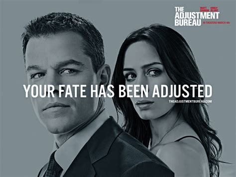 adjustment bureau the adjustment bureau review front row reviews