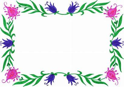 Frame Colorful Rectangle Flower Transparent Onlygfx Px